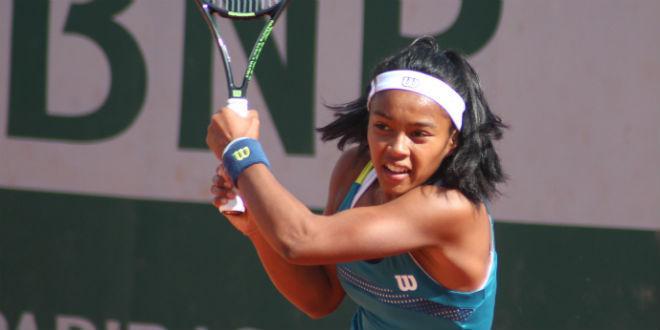 Tessah Andrianjafitrimo Roland Garros